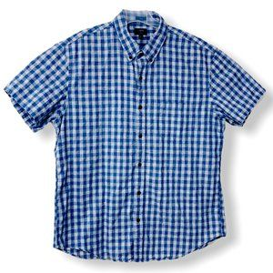 J. Crew Men's XL Slim Fit Homespun Gingham Shirt